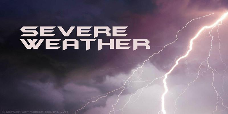 Weather across Georgia and Carolina